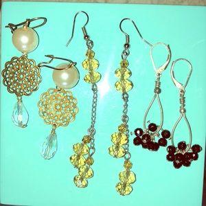 Earring Bundle!!! Set of 3 pairs